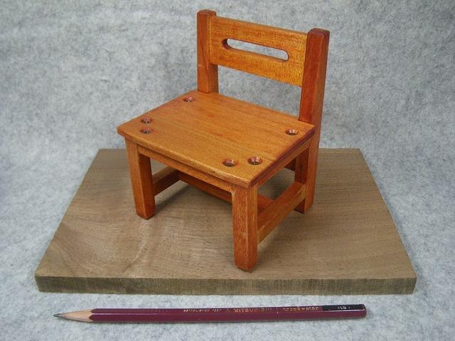 品番1705ミニ椅子オレンジ
