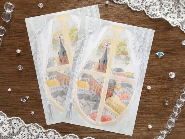 憧れのゆらめきポストカード
