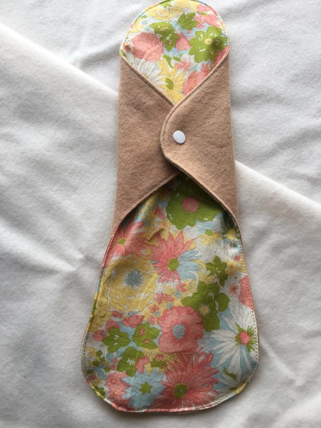 草木花染(あずき)ふんわり布ナプキンLL