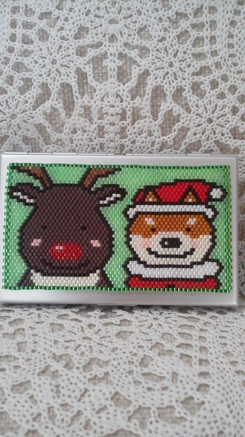 カードケース(トナカイさん?)
