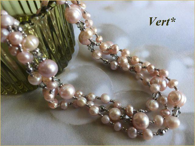 Vert* 【SV925】 スワロ×ライトモーヴ...