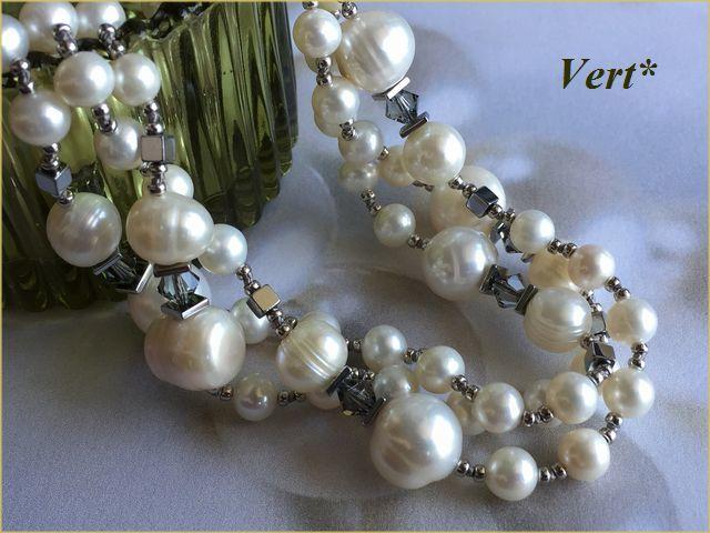 Vert* 【SV925】 スワロ×ホワイトライ...