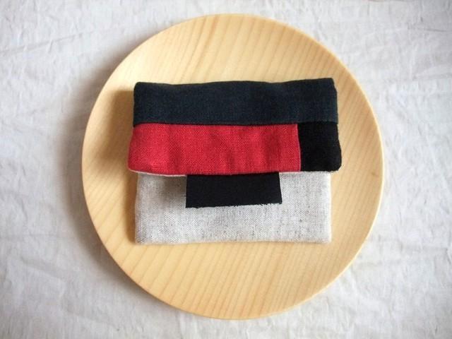mini mini purse (b/r)