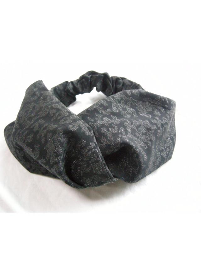 KIMONO  クロスターバン( black×silver )