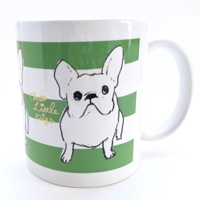 マグカップ【フレブル green】