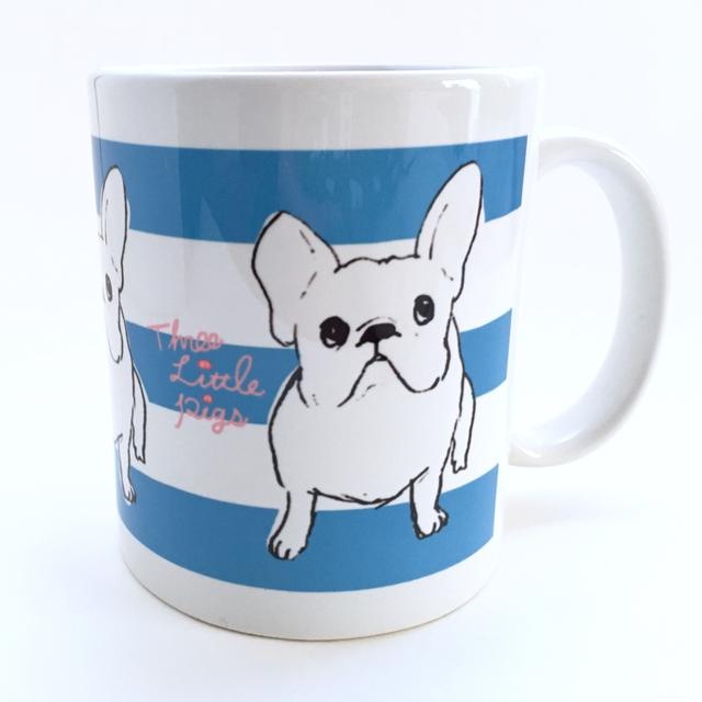 マグカップ【フレブル blue】
