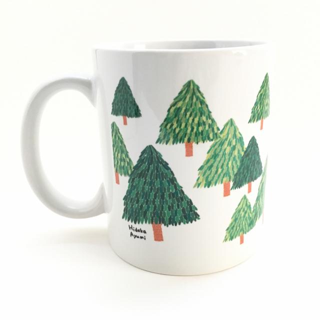 マグカップ【木】