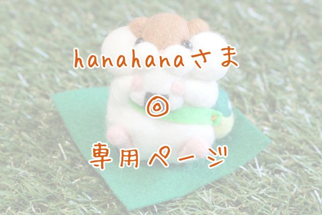 hanahanaさま◎専用ページ