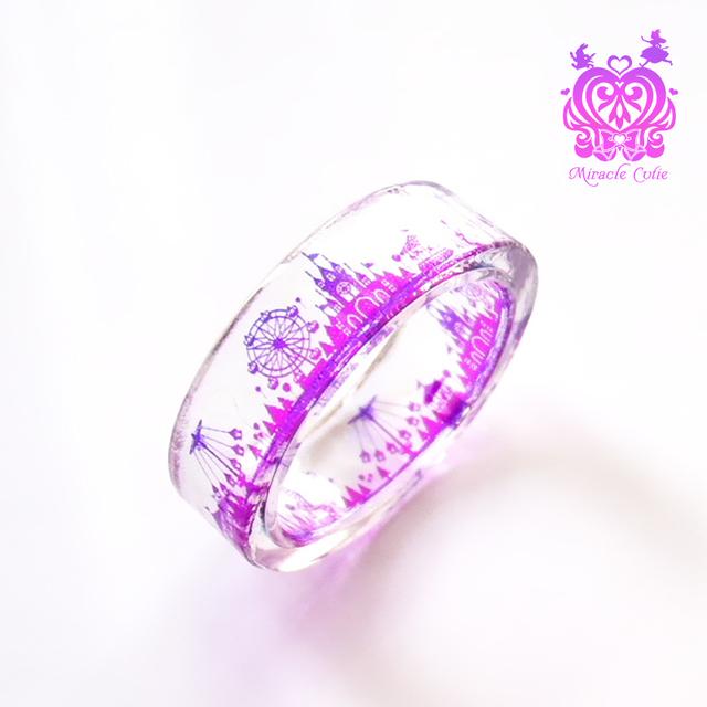 クリスタル遊園地の指輪