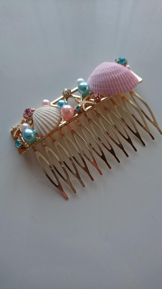 海の宝石箱コーム マーメイド 人魚姫