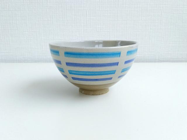 ご飯茶碗 ブルーライン