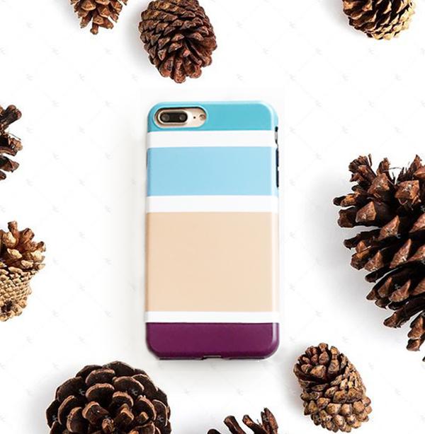 iphoneケース color stripe (iPhone7/7Plus・iPhone6/6Plus)