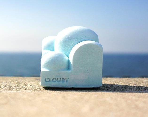 """小さな雲の指輪スタンド。 """"CLOUDY""""(..."""