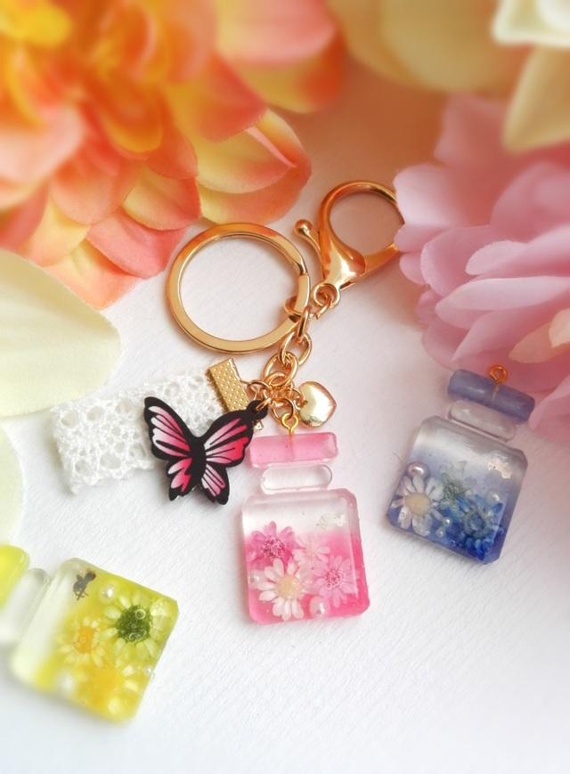天使のお花パフューム キーホルダー