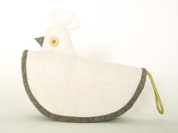 にわとりの鍋つかみ (natura bird)