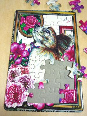 ※最後の1点です。 可愛い動物のパズル (ハルお洒落さん)