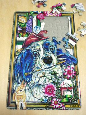 ※最後の1点です。 可愛い動物のパズル (ファー頑張り屋さん)