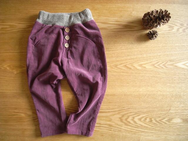 サルエル風パンツ*100サイズ