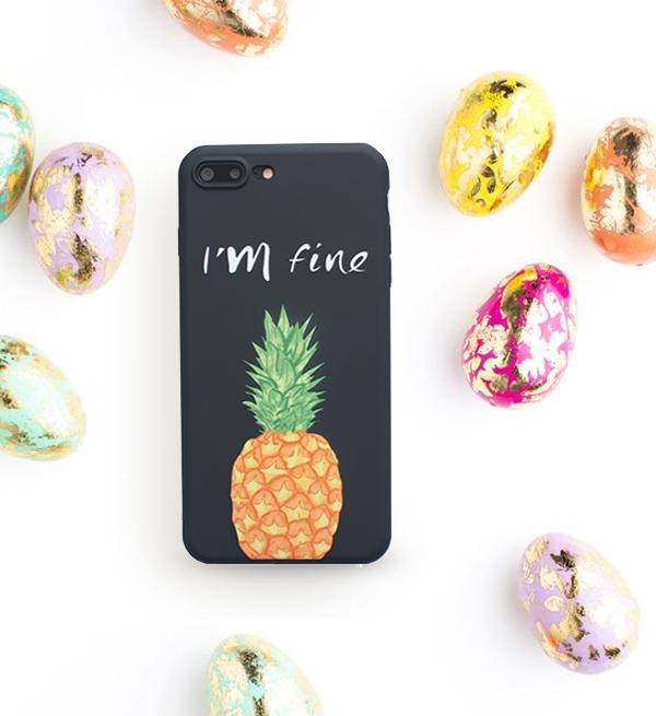 パイナップル pinapple iphoneケース デ...