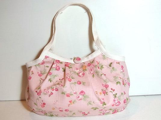 小さめグラニーバッグ「ミニョン・ピンク」