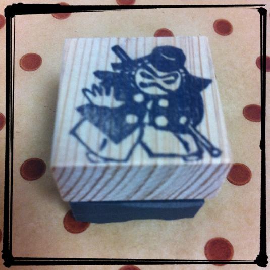【再販】歌舞伎はんこ・勧進帳の弁慶