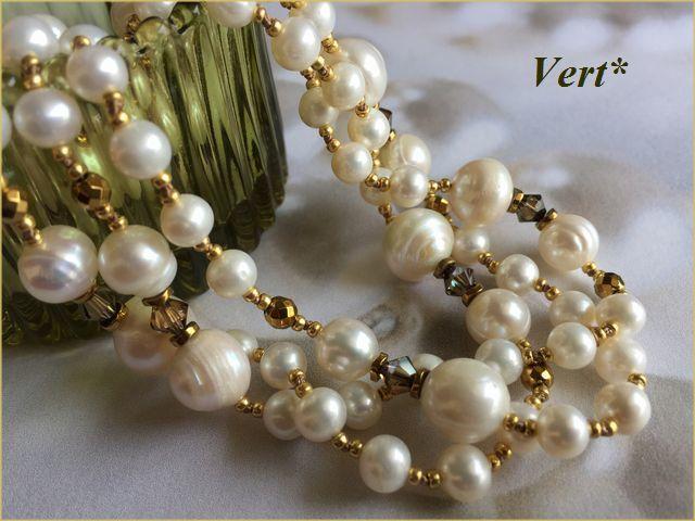 Vert* 【Vermeil】 スワロ×ホワイトラ...