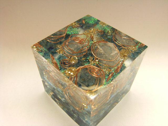オルゴナイト キューブ