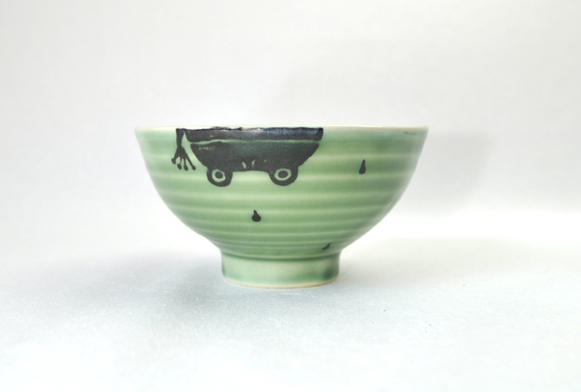 かえる茶碗