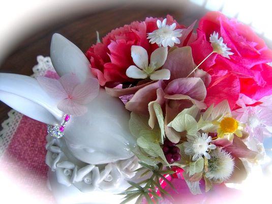 幸せうさぎのお花屋さん