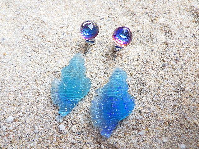 人魚の耳飾り  Chicoreus Ramosus??sv9...