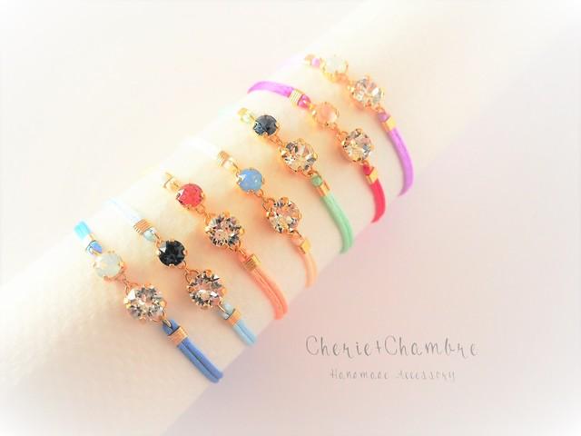 Bijou×Satin Code Bracelet