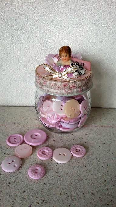 コラージュ baby girl jar