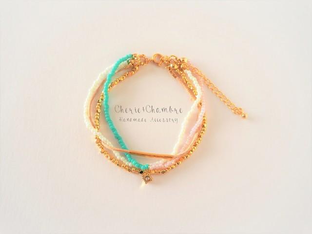 Quadruple Beads Bracelet