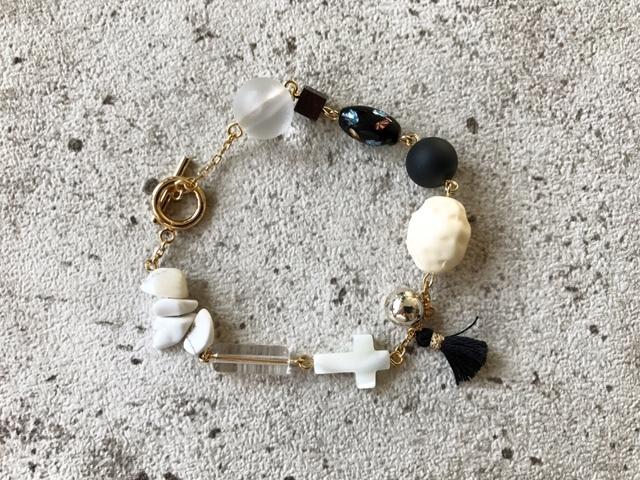 PB mix Z bracelet (NO.643)