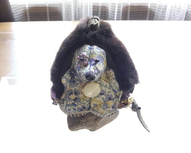 リアルファー&レザー製 Hedgehog