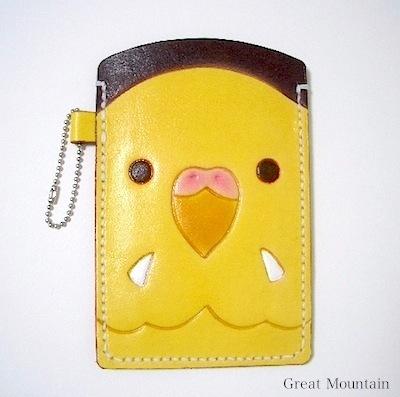 セキセイインコ インコ スマホケース カバー ケース 革 携帯 スマホ 鳥