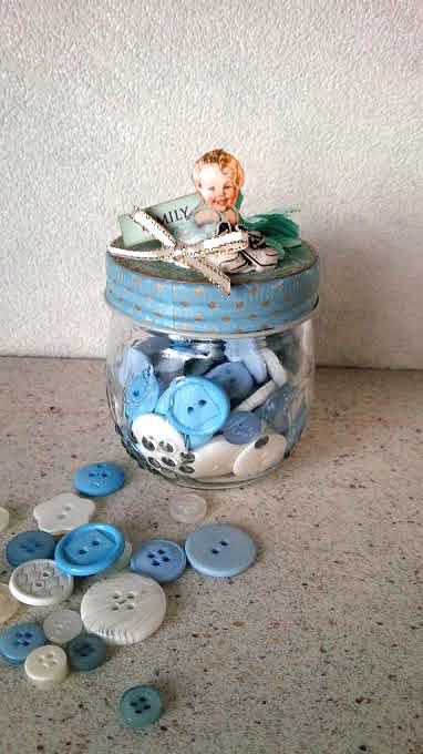 コラージュ baby boy jar