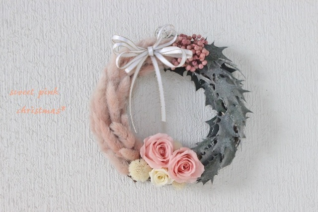 sweet pink wreath