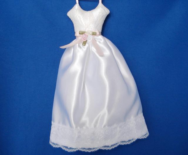 ドレス型サシェ(White)