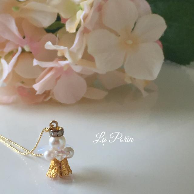 【14kgf】幸せを運ぶ天使のネックレス