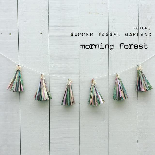 【数量限定】summer tassel garland *m...