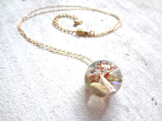 <SOLD OUT>    Seascape Necklace C