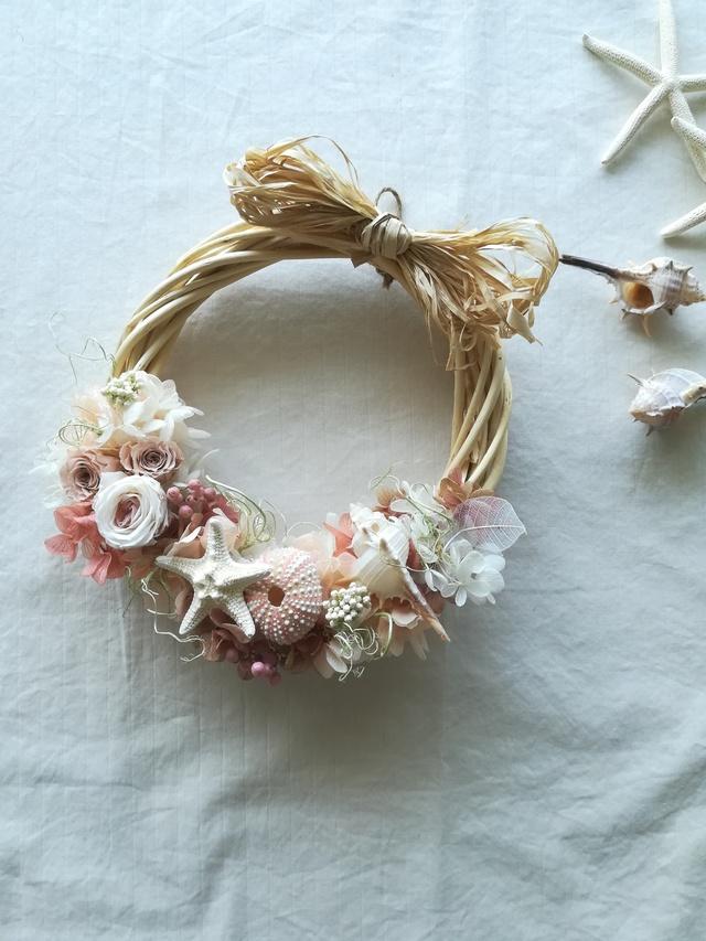 "wreath""海の夕暮れ"""