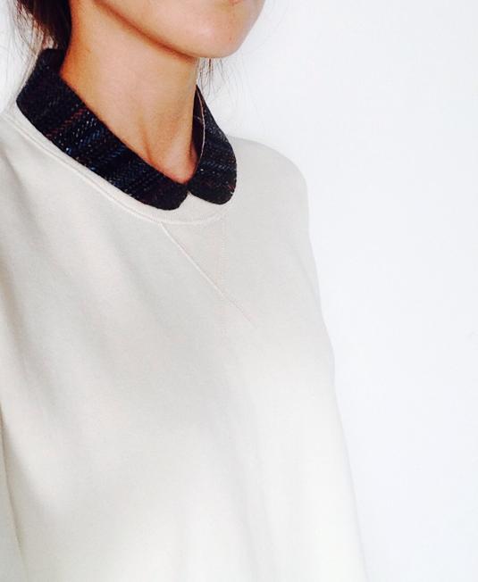 (多分最後の再販!)小さめ丸襟の付け襟a