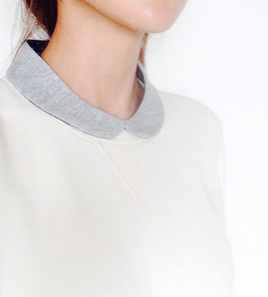 (再販!)小さめ丸襟の付け襟b