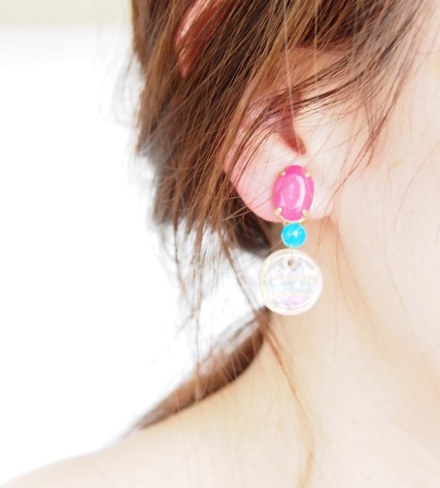 colorful earcuff