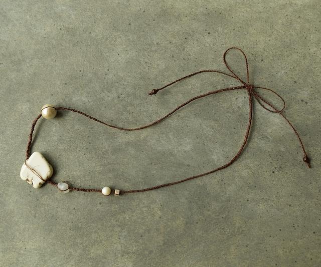 【送料無料】ラフロックのネックレス?