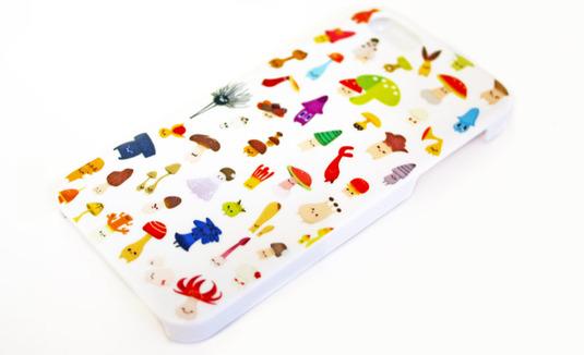 キノコのPhone5ケース 対応【再入荷】