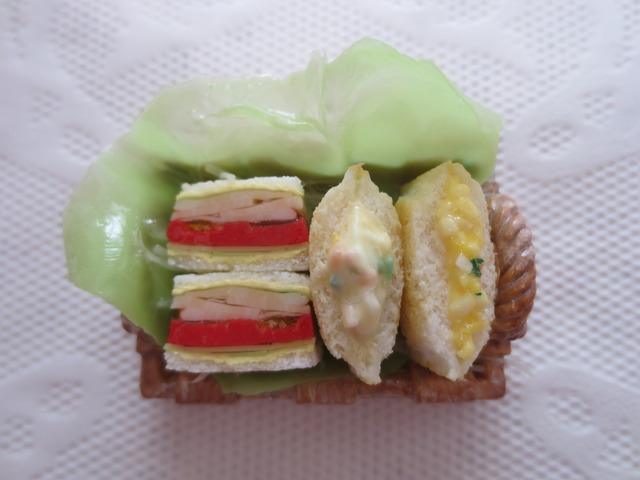 ☆たくさんサンドイッチのパントレイ☆