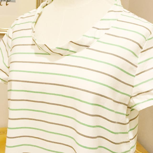 Tシャツのカタチのチュニック